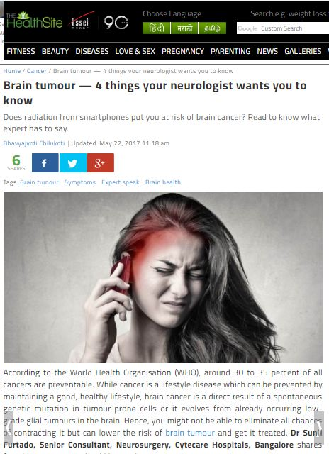 Brain tumour- 4 things your neurologist wants you to know
