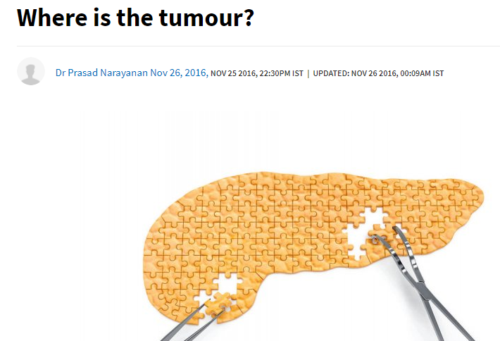 Where is the tumour