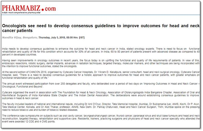 Oncologists see the need to develop consensus guidelines to improve outcomes for head and neck cancer patients