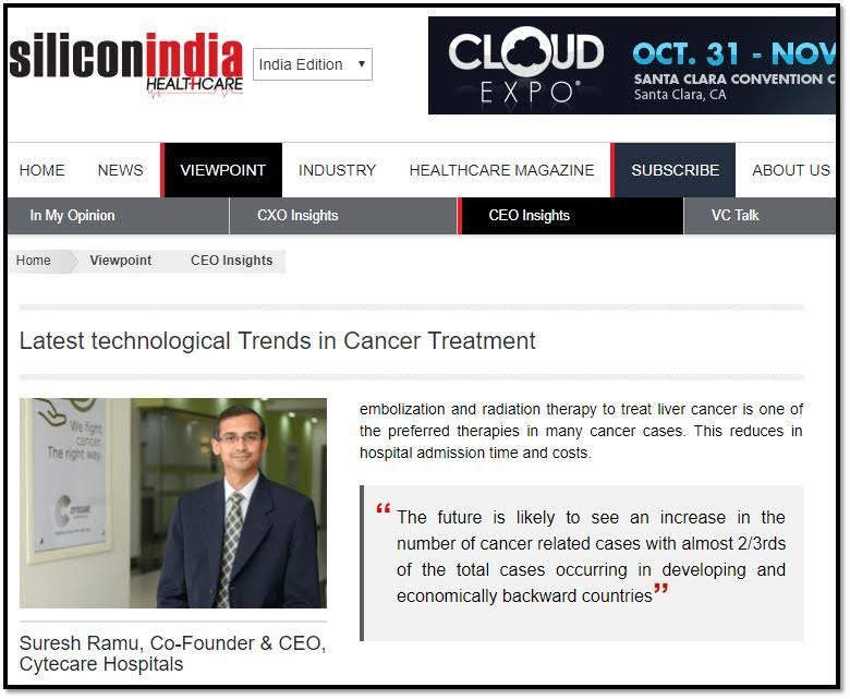 Latest technological Trends in Cancer Treatment
