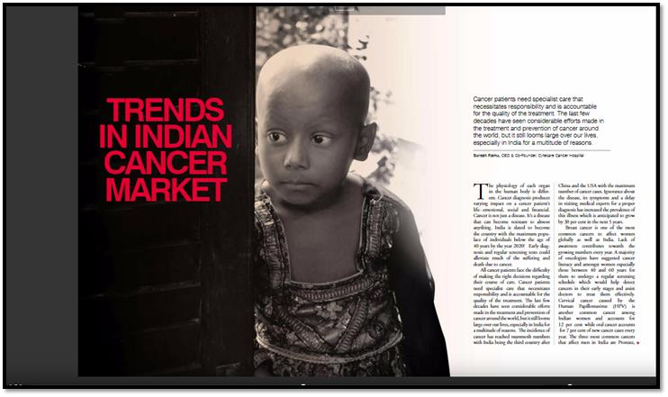 Trends in Indian Cancer Market